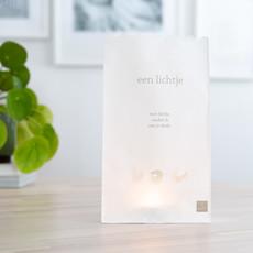 Giving Natural Candlebags - een lichtje met liefde - per 10