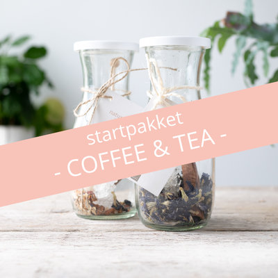Giving Natural Startpakket Giving natural - coffee & tea 2.0