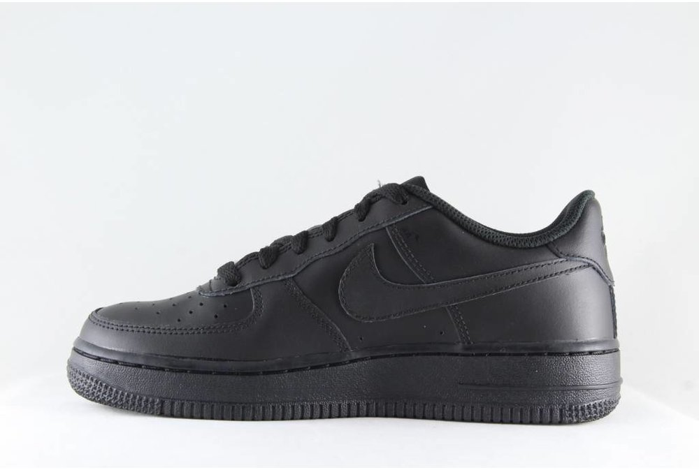 Nike NIKE AIR FORCE 1 (GS) Black/Black-Black