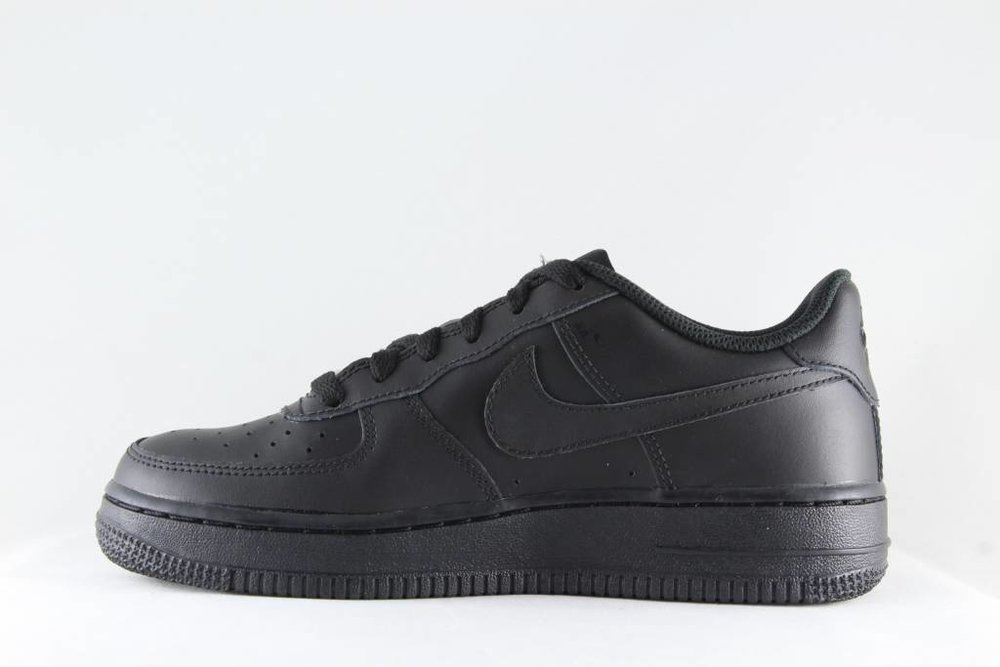 Nike NIKE AIR FORCE 1 (GS) Black/Black-Black