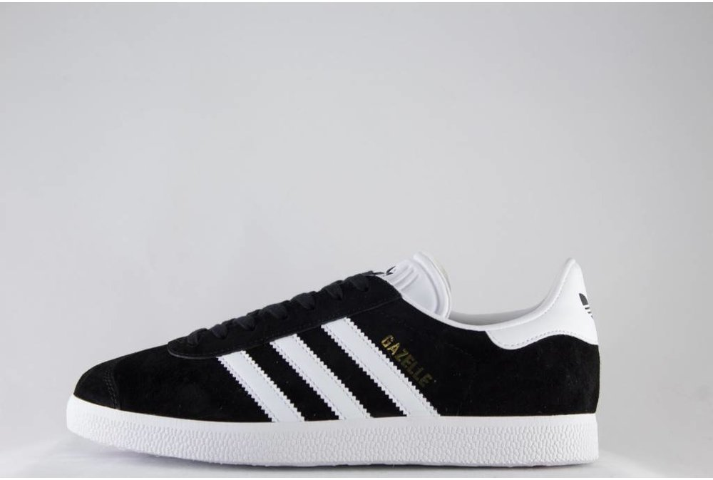 Adidas M ADIDAS GAZELLE Cblack/ White/ GoldMt