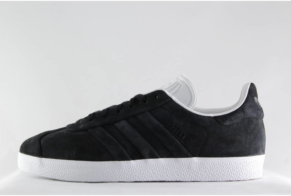 Adidas ADIDAS GAZELLE STITCH AND TURN Cblack/Cblack/Fwwht