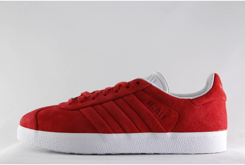 ADIDAS GAZELLE STITCH AND TURN Colred/Colred/Fwwht