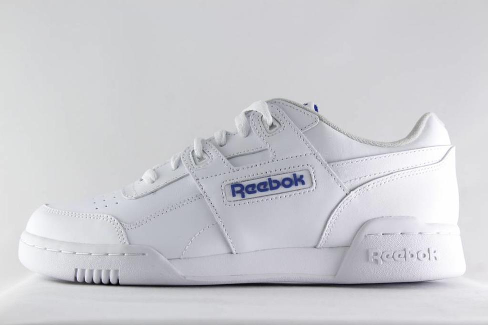Reebok M REEBOK WORKOUT PLUS White/Royal