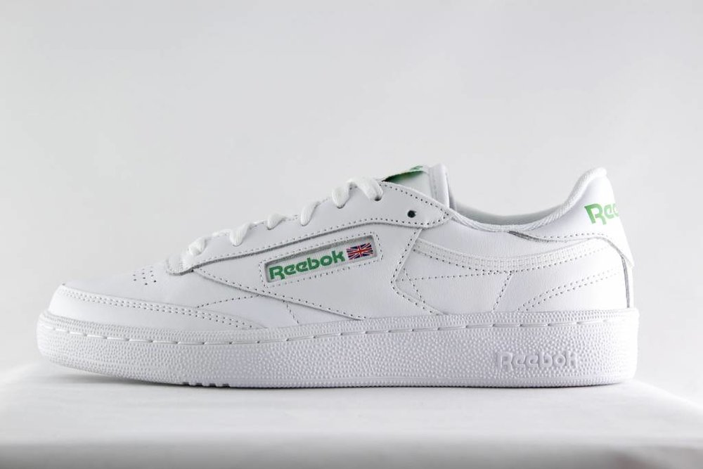 REEBOK REEBOK CLUB C 85 White/ Green