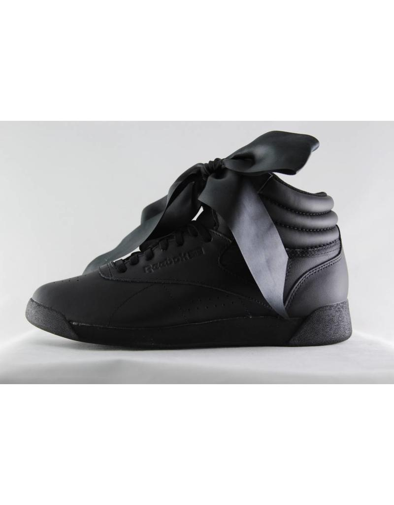 Reebok REEBOK FREESTYLE HI SATIN BOW Black/ Skull Grey