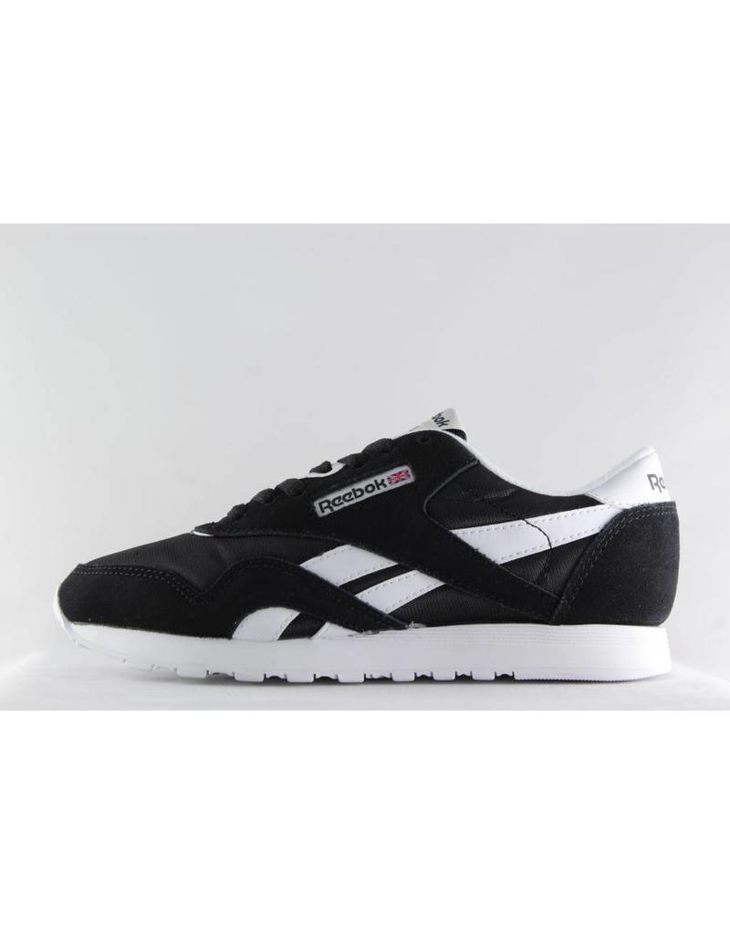 Reebok M REEBOK CLASSIC NYLON Black/ White