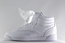 Reebok REEBOK FREESTYLE HI SATIN BOW White/ Skull Grey