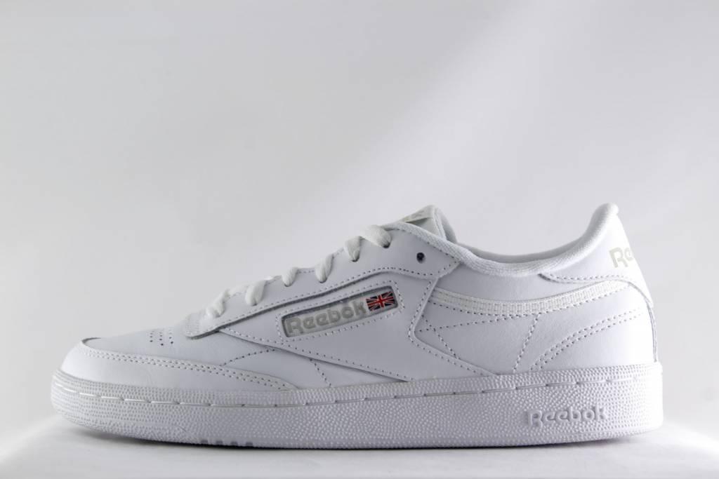 60b7c31772afd W REEBOK CLUB C 85 White Light Grey - Shoe Class