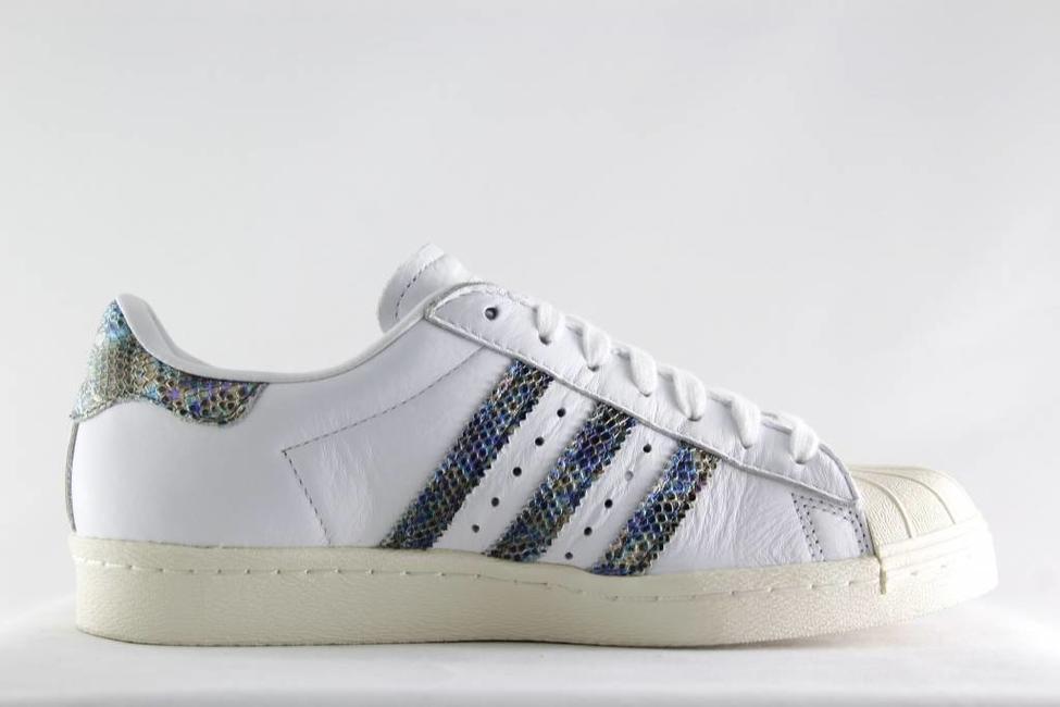Adidas W ADIDAS SUPERSTAR 80s Ftwwht/ Ftwwht/ Ftwwht