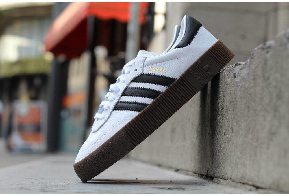 Adidas W ADIDAS SAMBAROSE Ftwwht/Cblack/Gum5