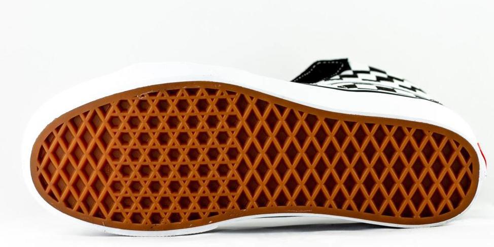 Vans VANS SK8-HI Platform 2 Checkerboard/ True White