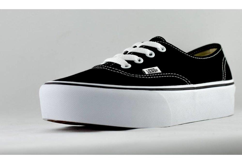 Vans VANS AUTHENTIC PLATFORM Black/White