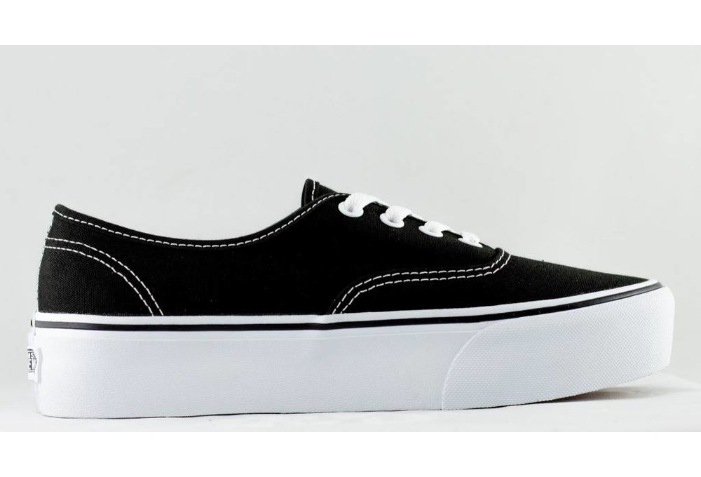 Vans VANS AUTHENTIC PLATFORM Black/White