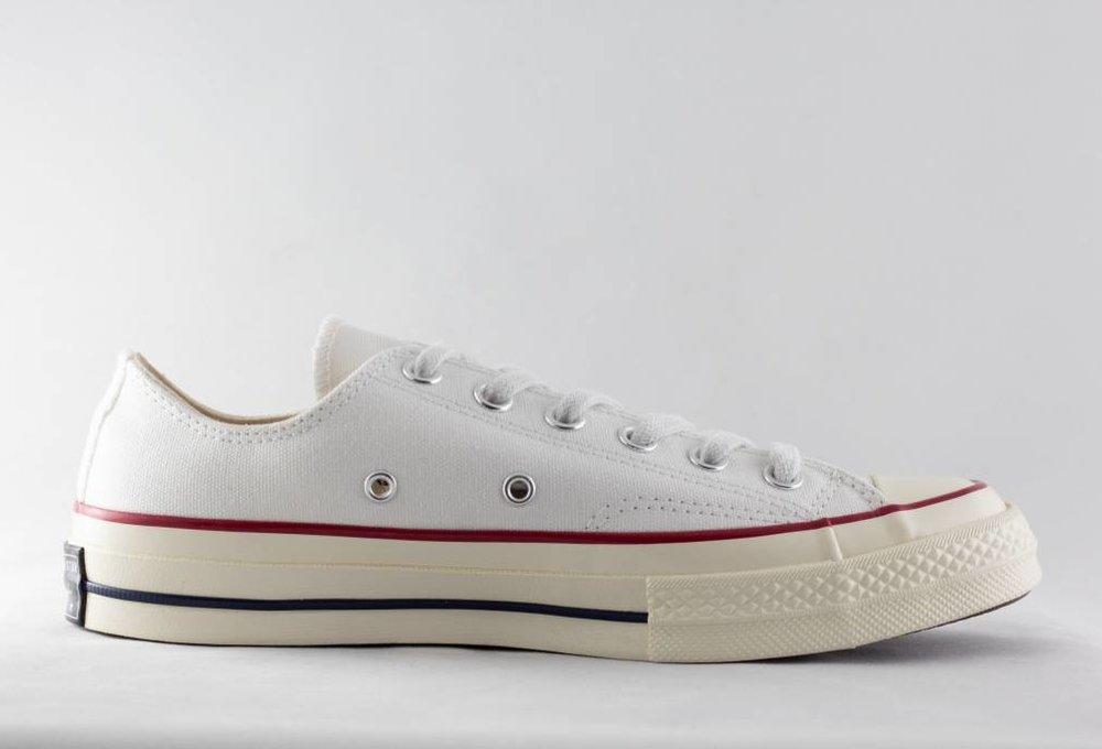 CONVERSE CHUCK 70 OX White/Garnet/Egret