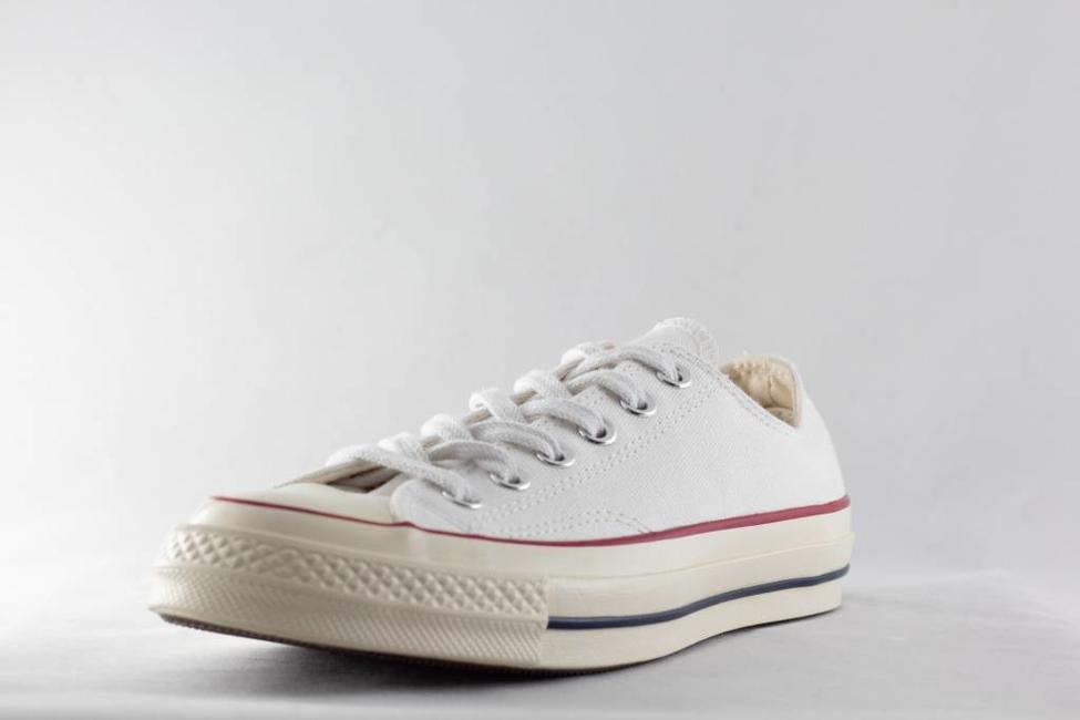 Converse CONVERSE CHUCK 70 OX White/Garnet/Egret