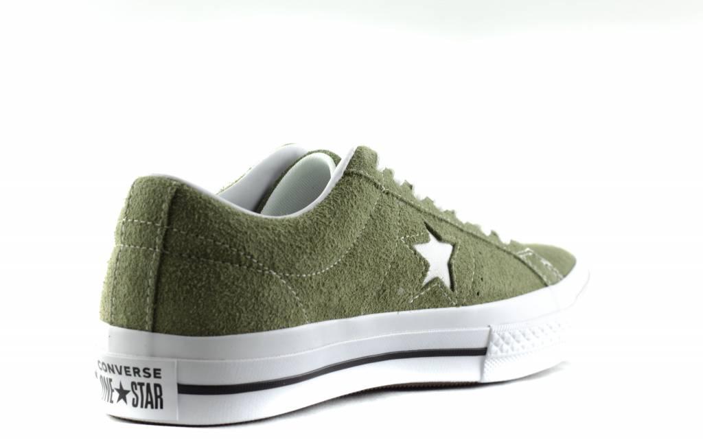 Converse CONVERSE ONE STAR OX Field Surplus/White