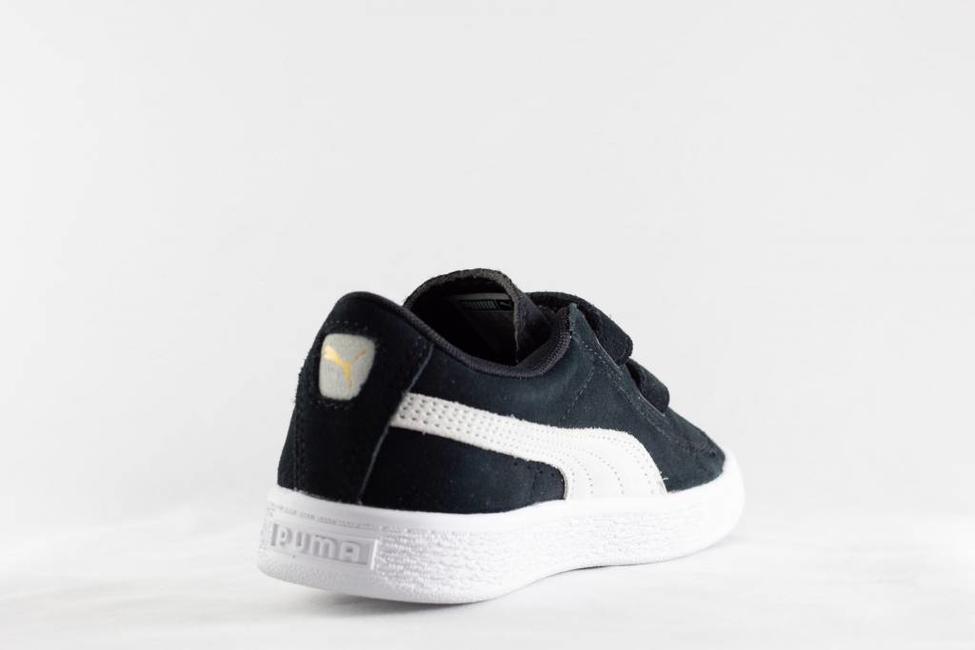 Puma PUMA SUEDE 2 STRAPS PS Black/White