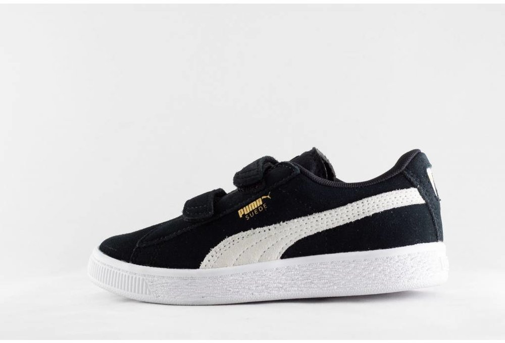 Puma PUMA SUEDE 2 STRAPS PS Black/White