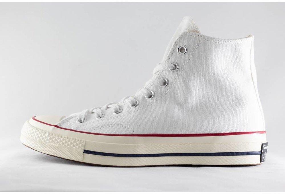 Converse ALL STAR 70 HI White/ Garnet/ Egret