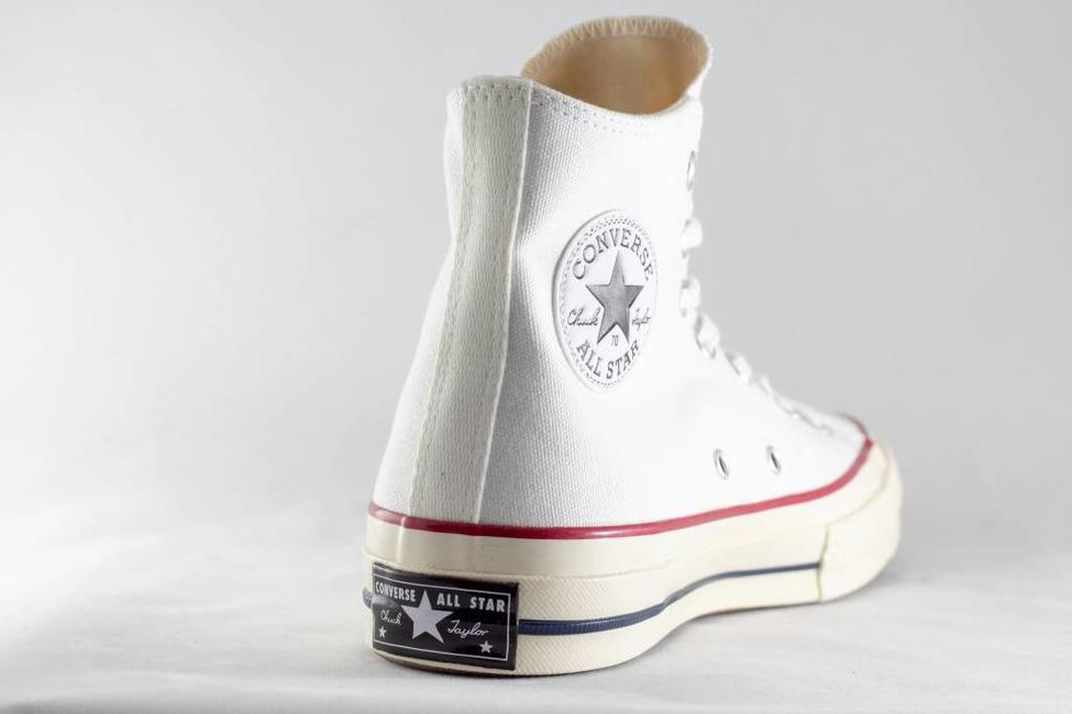 Converse CONVERSE ALL STAR 70 HI White/ Garnet/ Egret