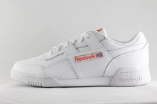 Reebok M REEBOK WORKOUT PLUS MU White/ Bright Lava
