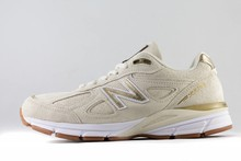 New Balance W NEW BALANCE W990 AG4 Made In USA Angora/ Gold