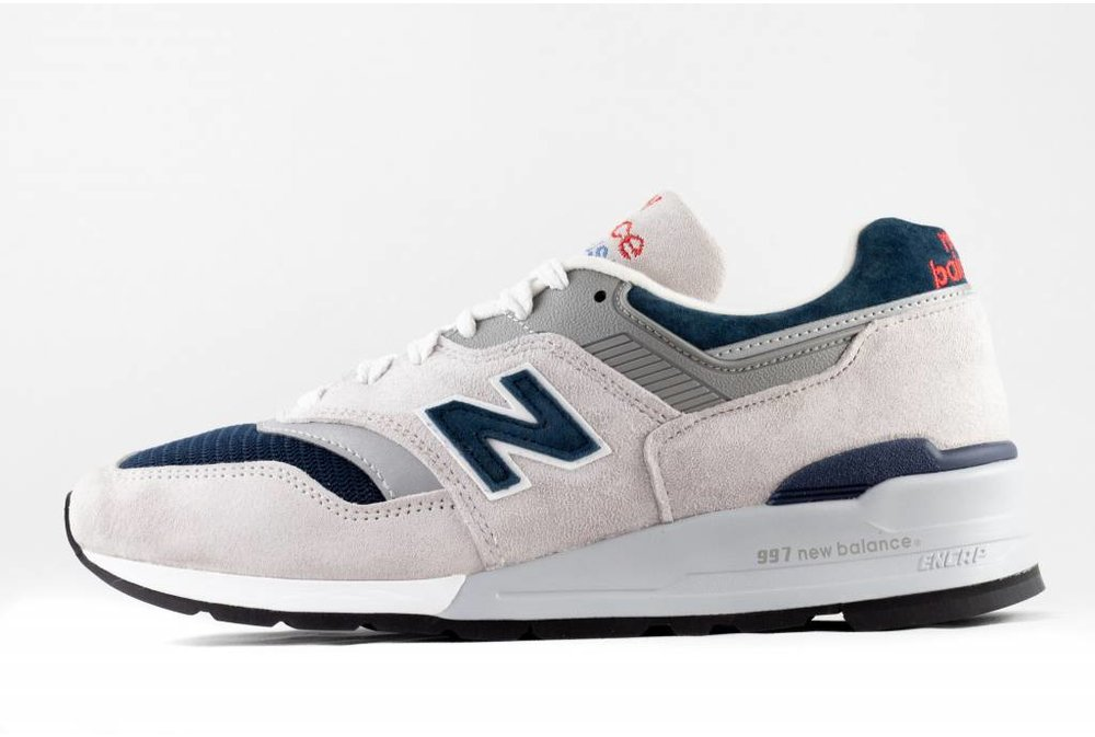 New Balance M NEW BALANCE M997 WEB Made In USA grey