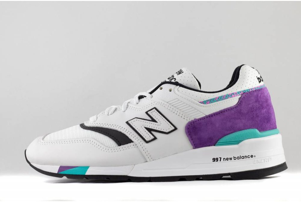 New Balance M NEW BALANCE M997 WEA Made In USA white/ purple