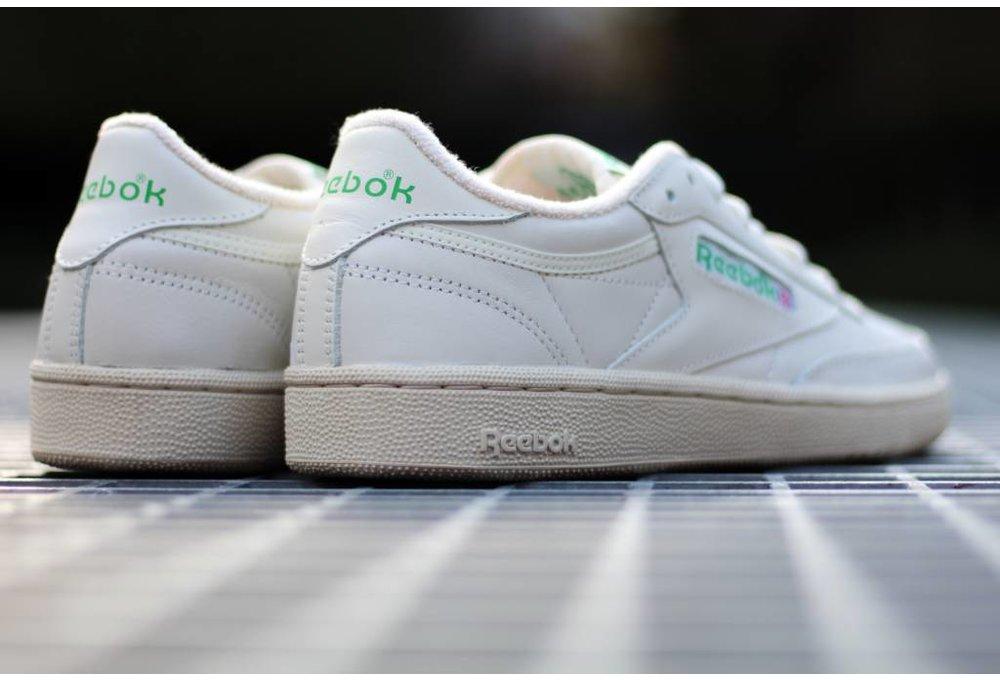Reebok CLUB C 85 VINTAGE Chalk/Green/White/Red
