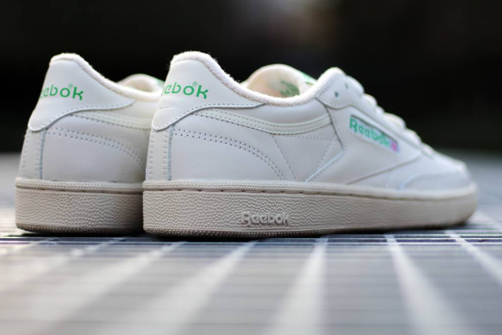 REEBOK CLUB C 85 VINTAGE Chalk/Green/White/Red