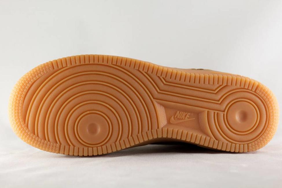 Nike J NIKE AIR FORCE 1 WINTER PREMIUM Flax/Flax-Outdoor Green-Gum Light Brown