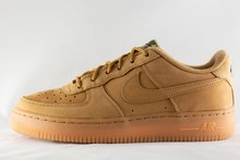 Nike J NIKE AIR FORCE 1 WINTER PREMIUM Flax/Flax-Outdoor Green-Gum Light Brown