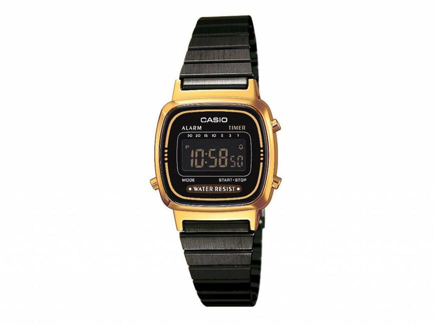 Casio CASIO LA670WEGB-1BEF Black gold