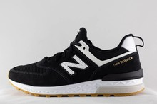 New Balance M NEW BALANCE MS 574 FCB Black