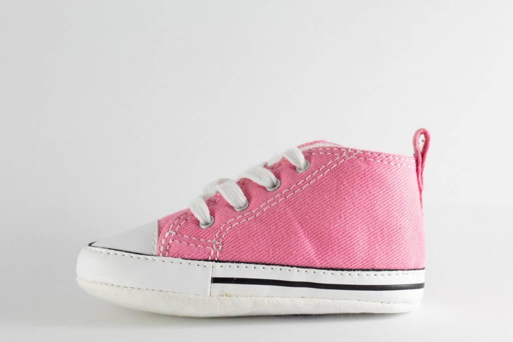 7bb0f8519e65 CONVERSE FIRST STAR HI Pink - Shoe Class