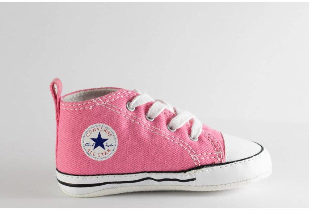 6e6351fa8d08 CONVERSE FIRST STAR HI Pink - Shoe Class