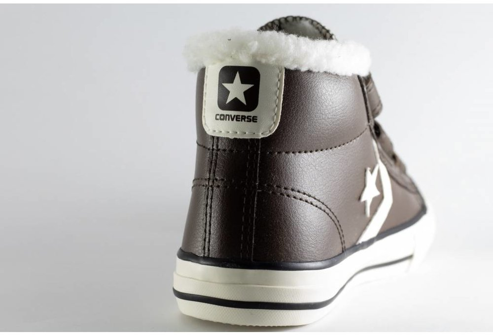 Converse AA C CONVERSE STAR PLAYER EV 3V MID Hot cocoa/ Egret/ Terra Red