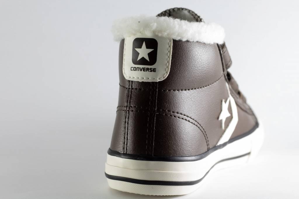 Converse STAR PLAYER EV 3V MID Hot cocoa Egret Terra Red