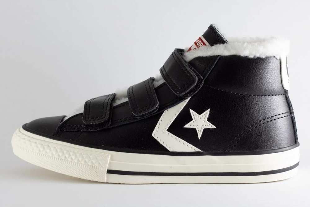 CONVERSE AA C CONVERSE STAR PLAYER EV 3V MID Black/ Egret/ Terra Red