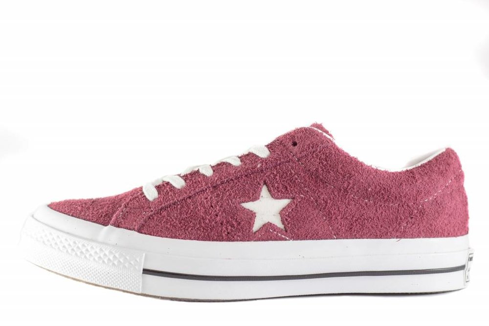 CONVERSE CONVERSE ONE STAR OX Deep Bordeaux/White/White