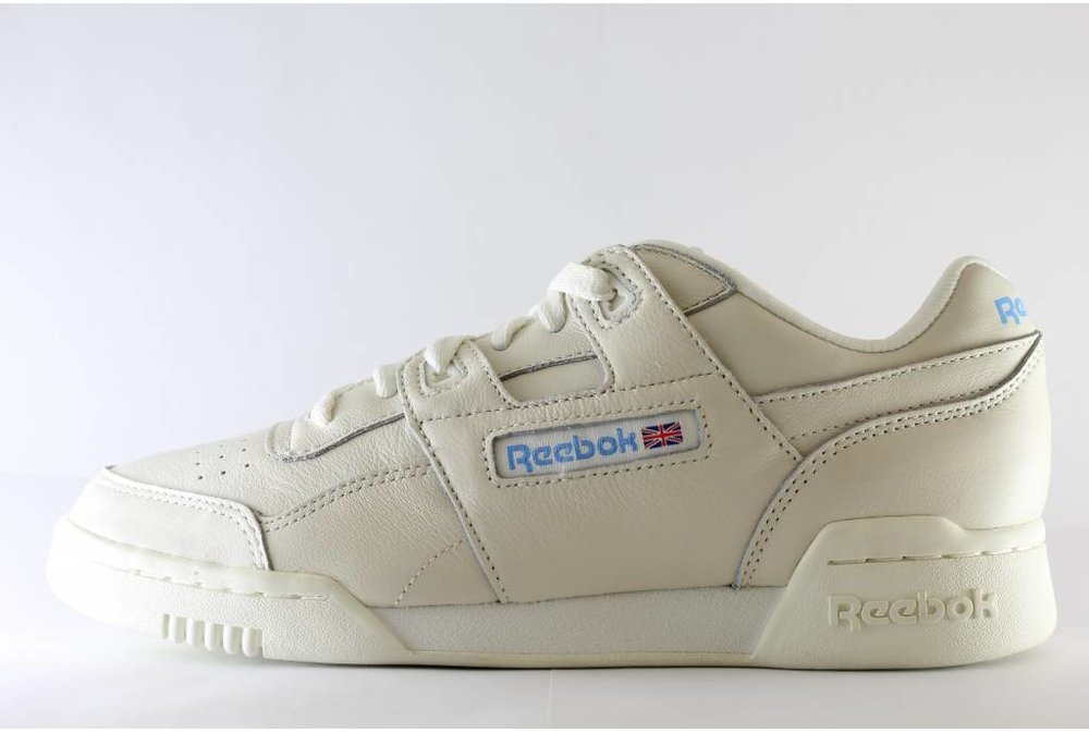 Reebok WORKOUT PLUS Chalk/ Athletic blue