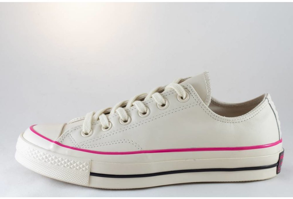 Converse CHUCK 70 OX Natural Ivory/ Pink