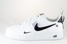 Nike NIKE AIR FORCE 1 '07 LV8 UTILITY White/White-Black-Tour Yellow