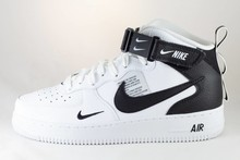 Nike NIKE AIR FORCE 1 MID '07 LV8 White/ Black- Tour Yellow