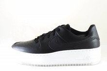 Nike NIKE AIR FORCE 1 SAGE LOW  Black/Black-White