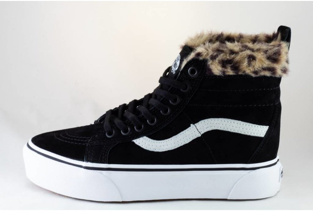 Vans VANS SK8-HI PLATFORM M Black/ Leopard Fur