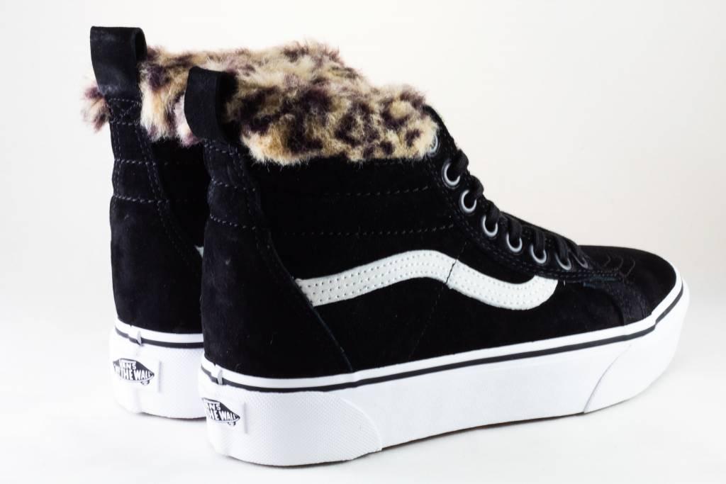 Vans SK8-HI PLATFORM M Black/ Leopard Fur