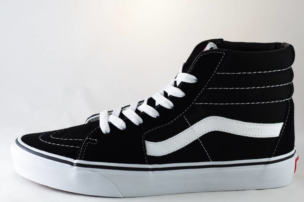 VANS VANS SK8-HI  Black/ True White