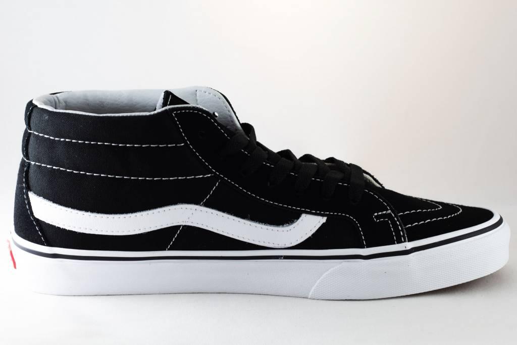 Vans U VANS SK8-MID REISSUE Black/ White